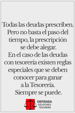 Defensa Deudores Tesoreria | Santiago Providencia 013